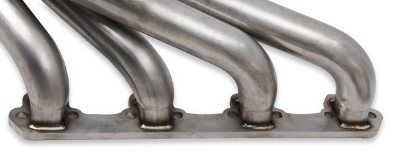 12167FLT - Flowtech Small Block Ford Turbo Headers – Natural 304 Stainless Steel - additional Image