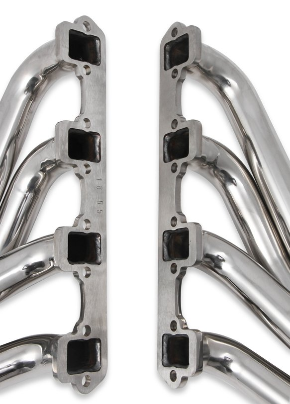 12168FLT - Flowtech Small Block Ford Turbo Headers – Polished 304 Stainless Steel - additional Image