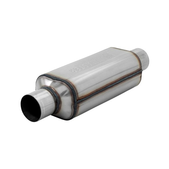 12512304 - Super HP-2 Muffler 304S - 2.50 Center In. 2.50 Center Out - Aggressive Sound Image