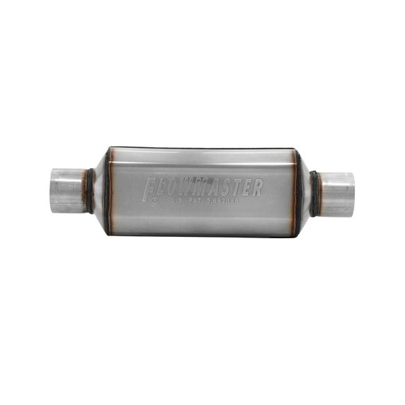 12512304 - Super HP-2 Muffler 304S - 2.50 Center In. 2.50 Center Out - Aggressive Sound - additional Image
