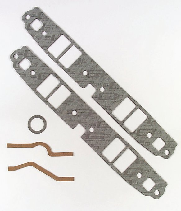 126 - Intake Manifold Gasket Set - Performance - 262-400 Chevrolet Small Block Gen I - Brodix Heads Only Image