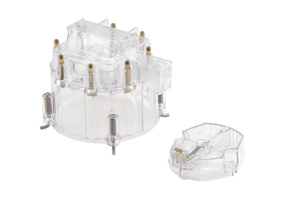 1263C - Distributor Cap - GM - V8 - Male - HEI Style - Clear Image