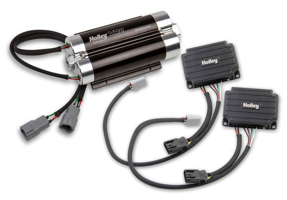 12-3000-2 - VR2 Brushless Fuel Pump w/Controller-Dual 10AN Inlet Image