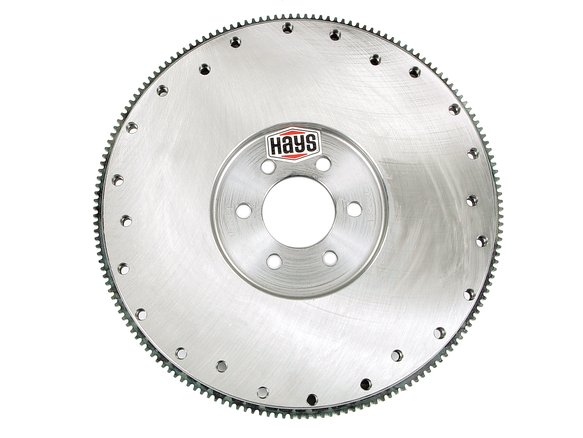 13-230 - Steel 166-tooth external balance flywheel 1964-81 Pontiac 326-455 V8 Image