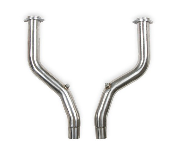 13133FLT - FLOWTECH OFF-ROAD MID-PIPES  - POLISHED STAINLESS STEEL Image