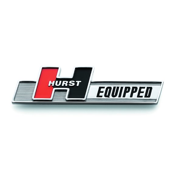 1361000 - Hurst Equipped Emblem Image