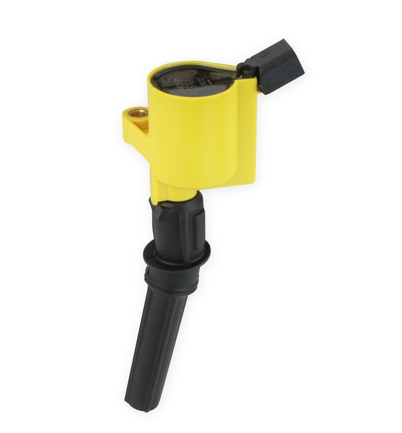 140032 - ACCEL Ignition Coil - SuperCoil - 1998-2008 Ford 4.6L/5.4L/6.8L 2-valve modular engines - Yellow - Individual Image