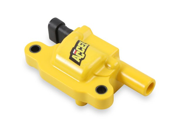 140043 - ACCEL Ignition Coil - SuperCoil GM LS2/LS3/LS7 engines, yellow, Individual Image