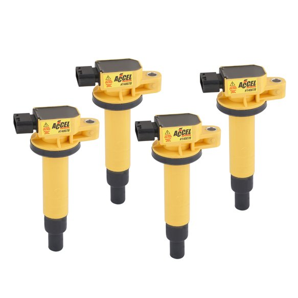 140078-4 - ACCEL Ignition Coil - SuperCoil - Scion - 1.5L - I4 - 4-Pack Image