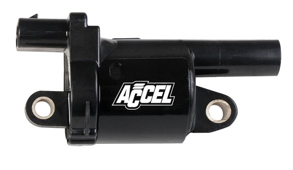 140080 - ACCEL Gen V GM Coils, 2014 and Up, Round, black, Individual Image