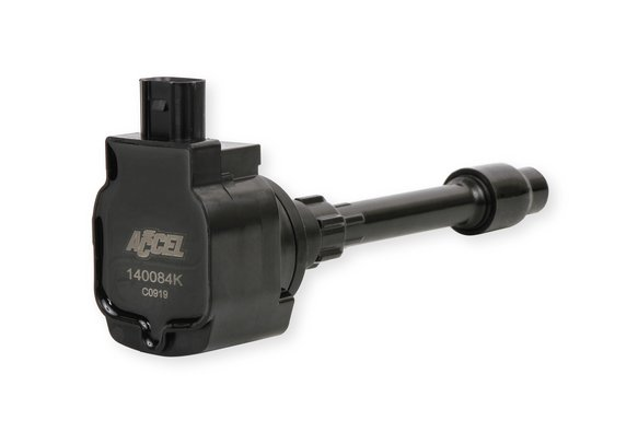 140084K - Accel Ignition Coil - Honda Civic 2.0L, 2.0L Turbo and  Fit 1.5L 4-cylinder, Black, Individual Image