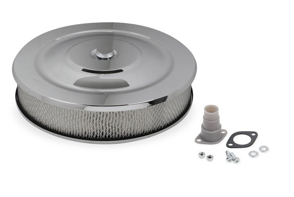 1400G - Mr Gasket Easy Flow Air Cleaner - Chrome Image