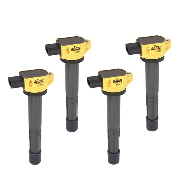140311-4 - Ignition Coil - SuperCoil - Honda 2.0/2.2/2.4L - I4 - 4-Pack Image