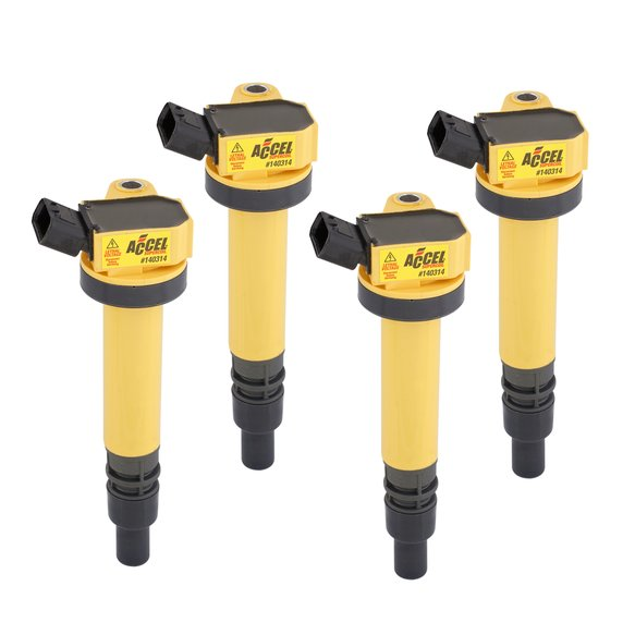 140314-4 - ACCEL Ignition Coil - SuperCoil - Toyota 1.8L - I4 - 4-Pack Image