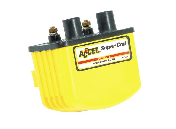 140408 - Ignition Coil - Super Coil - 3.0 Ohms Res - Yellow Image