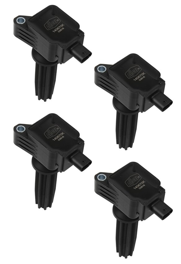 140670K-4 - Ignition Coil - SuperCoil - Ford EcoBoost 2.0L/2.3L - L4 - 4 Pack Image