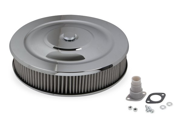 1410G - Mr. Gasket Easy Flow Air Cleaner - Chrome Image