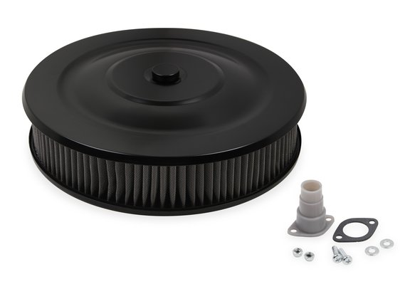 1412G - Mr. Gasket Easy Flow Air Cleaner - Flat Black Powder Coated Image
