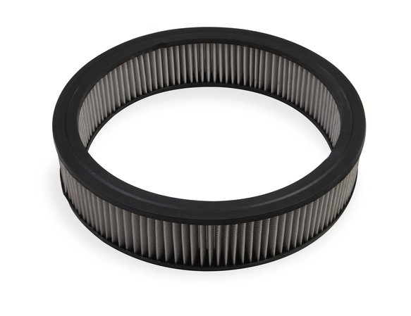 1420G - Mr. Gasket Air Filter - Replacement - 14 Inch x 3 Inch - White Washable Image