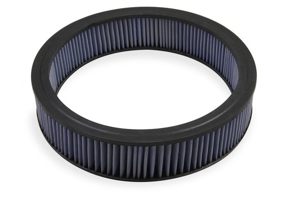 1422G - Mr. Gasket Air Filter - Replacement - 14 Inch x 3 Inch - Blue Washable Image