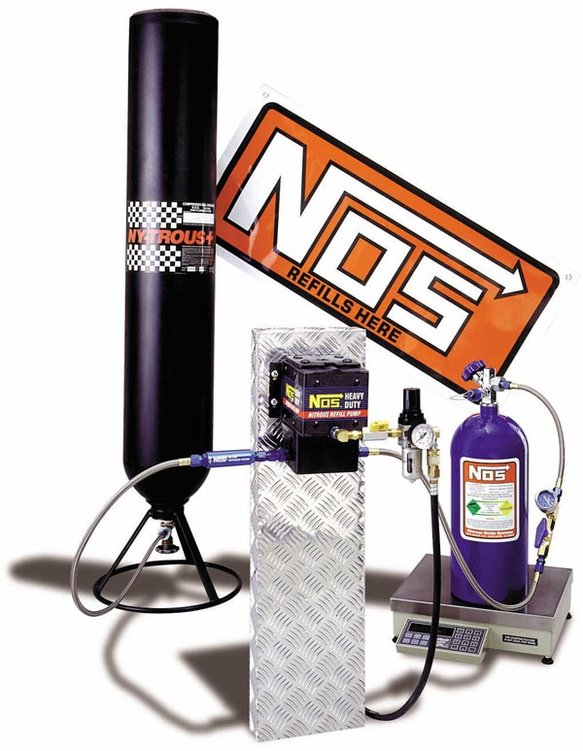 14251NOS - Nitrous Refill Pump Station Image
