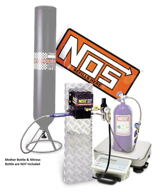 14254NOS - NOS Nitrous Refill Pump Station with Scale Image