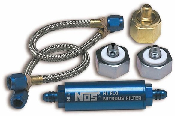 14300NOS - Nitrous Refill Pump Station Line Assembly Image