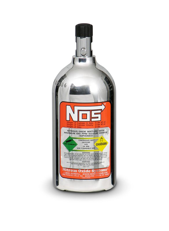 14710-PNOS - 2 lb Polished Nitrous Bottle Image