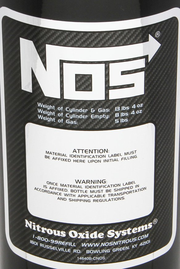 14730BNOS - NOS Nitrous Bottle - additional Image