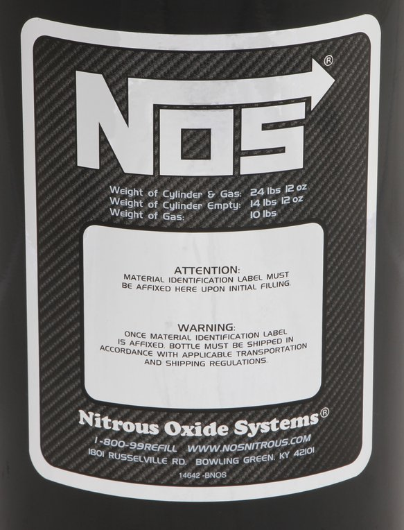 14745B-TPINOS - NOS Nitrous Bottle - additional Image