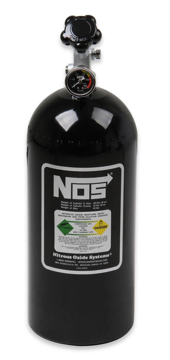 NOS 14720NOS 2.5 lb Electric Blue Nitrous Bottle - Holley