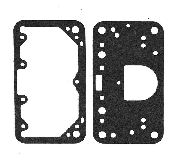 1509 - Carburetor Fuel Bowl and Metering Block Gaskets For Holley Image