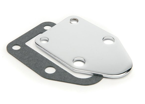 1515 - Block Off Plate for Fuel Pump - Small Block Chevy Image