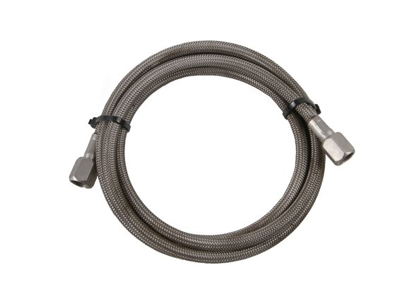 15260-MNOS - NOS Stainless Steel Braided Hose -4AN 6-foot Stainless Steel Ends Image