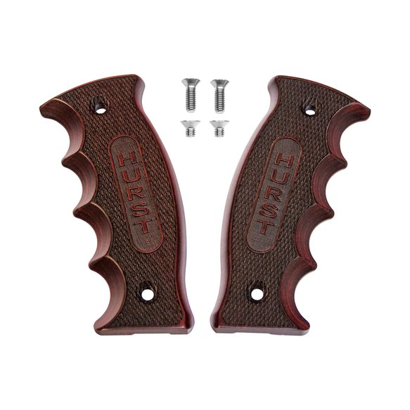 1539000 - Hurst Replacement Pistol Grip Side Grip Plates in Rosewood Image