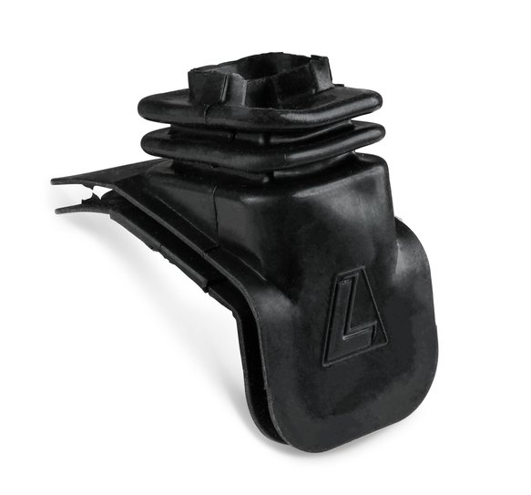 15510 - Clutch Fork Boot - Lakewood Bellhousing for Chevy - Rubber - Black Image
