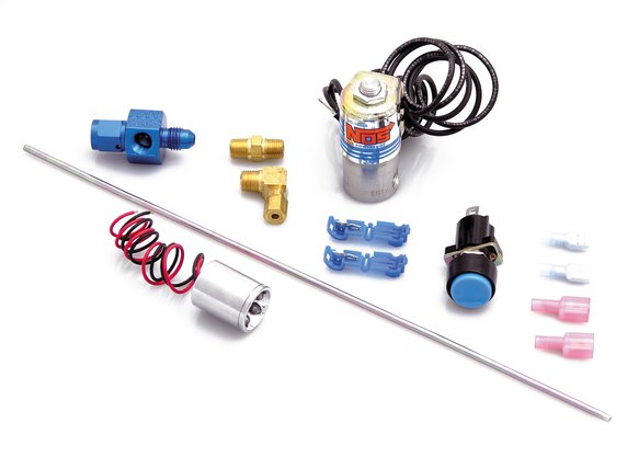 16033NOS - Ntimidator Illuminated LED Nitrous Purge Kit Image