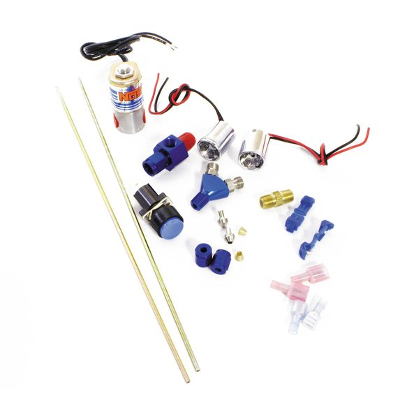 16037NOS - Ntimidator Illuminated Dual LED Nitrous Purge Kit Image