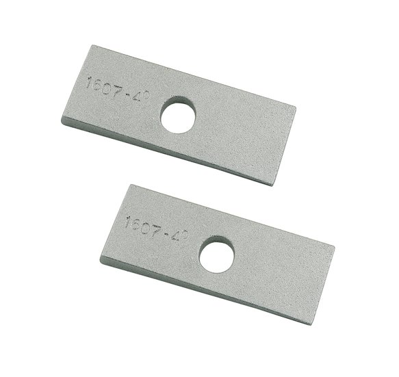 1607 - Mr. Gasket Traction Bar Wedge Sets - 4 Degree Image