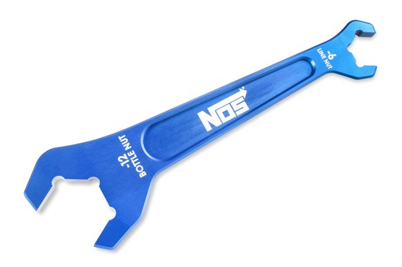 16126NOS - NOS Nitrous Bottle Nut Wrench-Blue Image