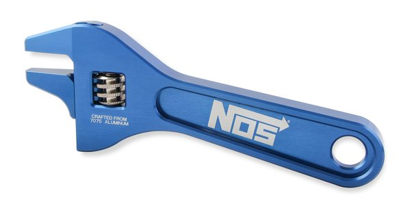 16135NOS - NOS Aluminum Adjustable Wrench Image