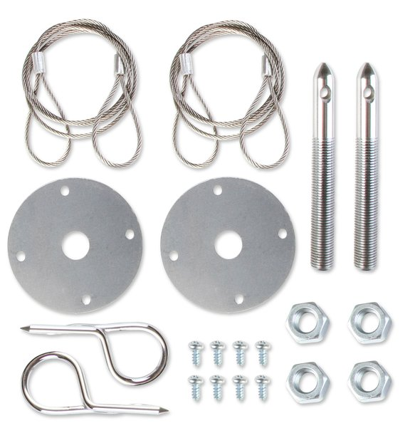 1616 - Hood and Deck Pinning Kit - Competition with Lanyards Image