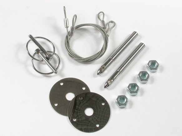 1617 - Mr. Gasket Hood Or Deck Pin Kit - Competition With Lanyards Image