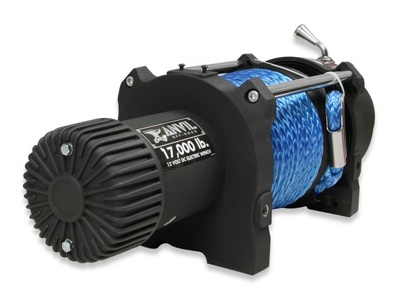17010AOR - Anvil - 17,000 Lbs Winch w/ Synthetic Rope & Aluminum Fairlead - additional Image