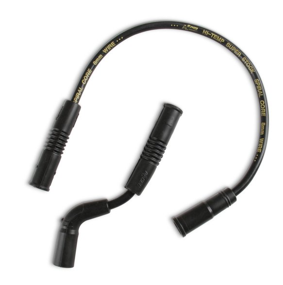 171112K - Custom Wire Set - 09-15 Sportster XR1200 - 8mm - Black Image