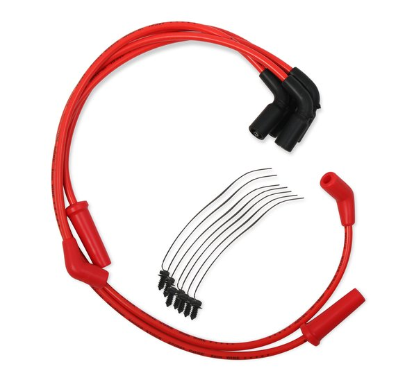 171116-R - Custom Wire Set - 17-up Harley Davidson Touring - 8mm - Red Image