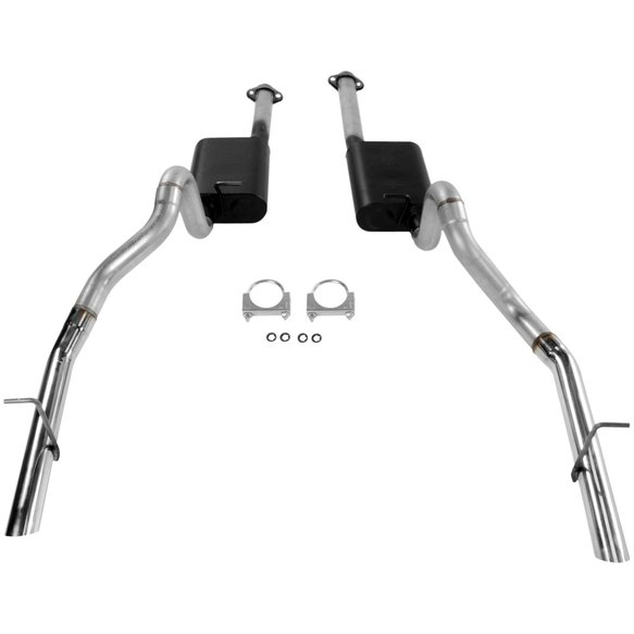 17212 - Cat-back System - Dual Rear Exit - American Thunder - Aggressive Sound - additional Image