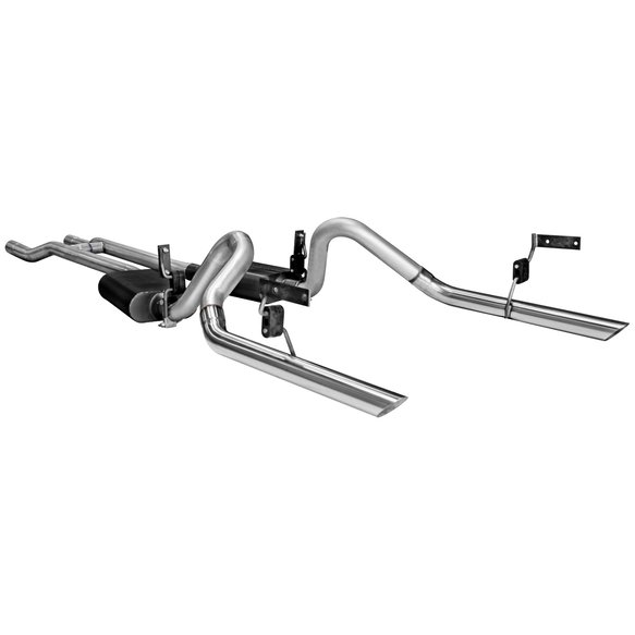 17273 - Header-back System - Dual Rear Exit - American Thunder - Moderate Sound Image