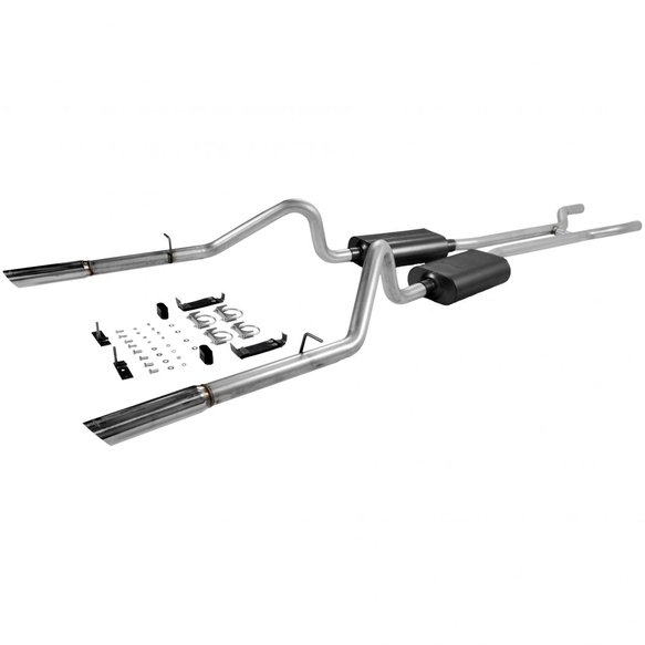 17289 - Flowmaster American Thunder Header-back Exhaust System Image