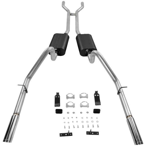17289 - Flowmaster American Thunder Header-back Exhaust System - additional Image